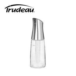 Trudeau Oil Bottle with Spice Infuser 12oz