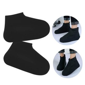 Silicone Shoe Cover Black (Large 41-45cm)