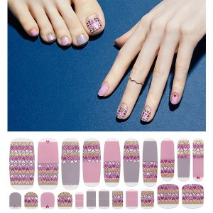 Vika Nailjam Gel Nail Strip 8F22 - Crazy Little Things